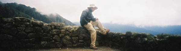 On the Inca Trail - October 2003